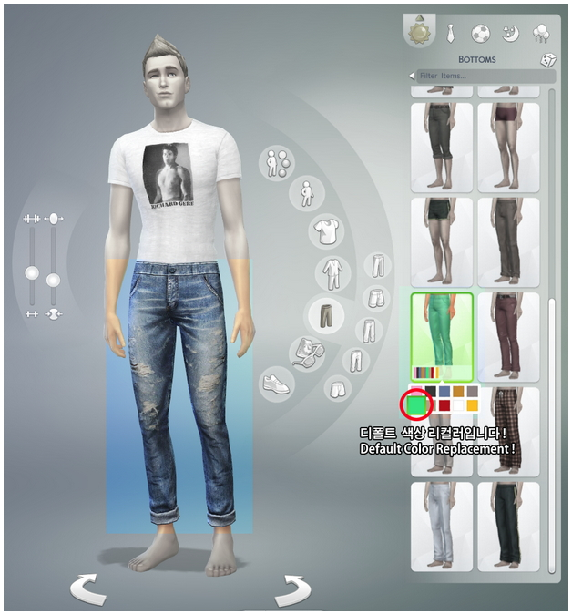 T shirt and jeans default replacement by Rusty Nail image 11 Sims 4 Updates