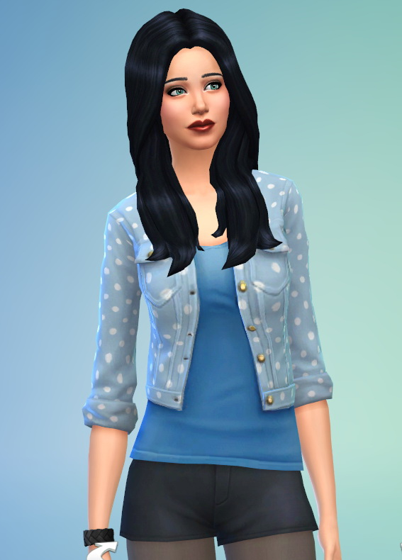 Sims 4 Polka dot jacket at Ayla's Sims