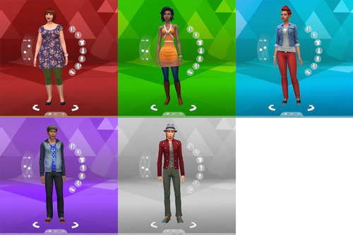 Custom Cas Backgrounds 19 Flavours By Lumialover Sims