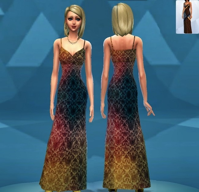 Sims 4 Recolor Dress #2 by MoonFairy at Everything for your sims