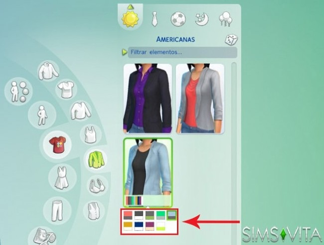 Sims 4 Tutorial The Sims 4: How to put a custom Swatch for non default outfits at Sims Vita