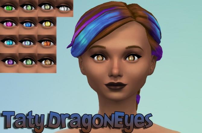 Dragon and Future eyes default at Taty – Eámanë Palantír image 2218 Sims 4 Updates
