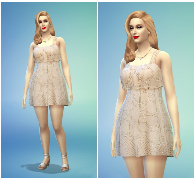 Default replacement floral dress to Rusty Nail image 25 Sims 4 Updates