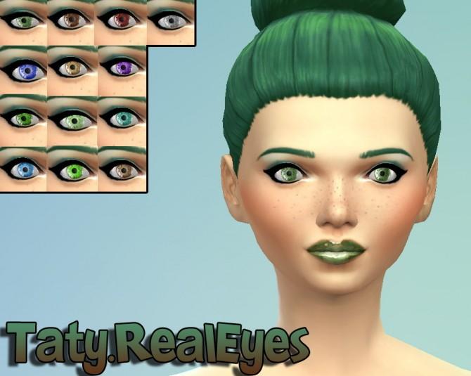 Sims 4 Shine and Real eyes at Taty – Eámanë Palantír