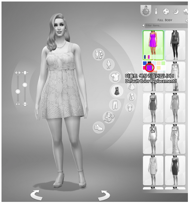 Default replacement floral dress to Rusty Nail image 26 Sims 4 Updates