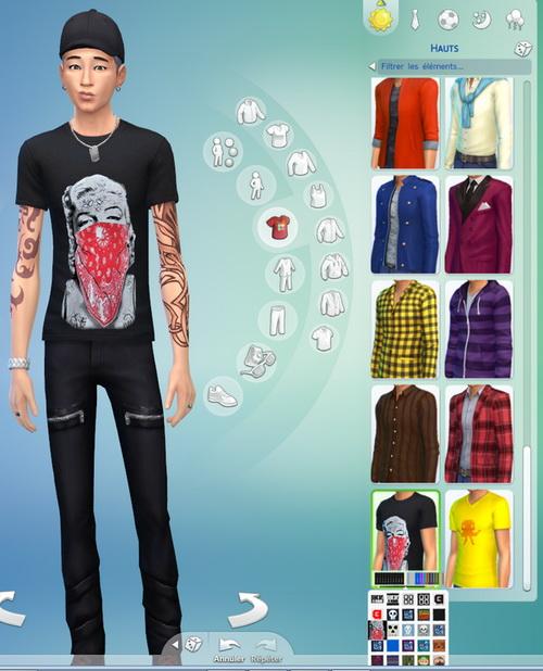 BIGBANG non default recolors at Darkiie Sims4 image 344 Sims 4 Updates