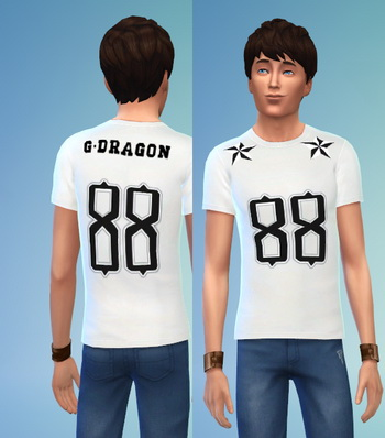 BIGBANG non default recolors at Darkiie Sims4 image 353 Sims 4 Updates