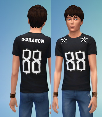 BIGBANG non default recolors at Darkiie Sims4 image 364 Sims 4 Updates