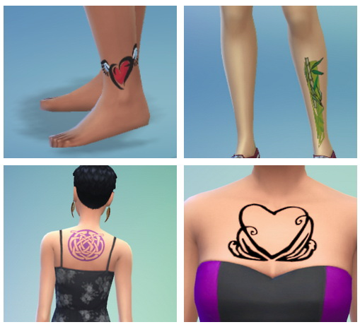 8 tattoos pack at SimFeetUnder image 3711 Sims 4 Updates