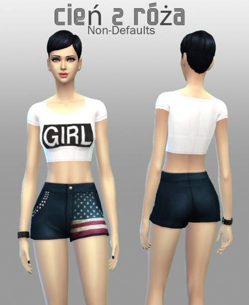Mixup Shorts at Cień z róża image 436 Sims 4 Updates