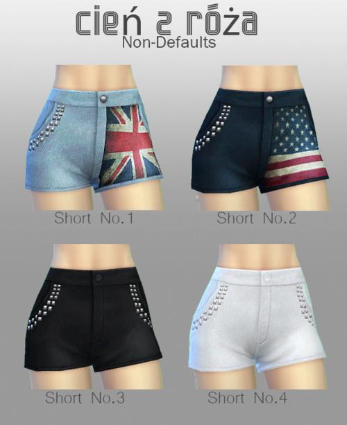 Mixup Shorts at Cień z róża image 449 Sims 4 Updates