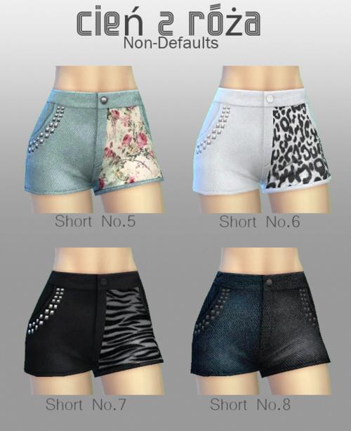 Mixup Shorts at Cień z róża image 455 Sims 4 Updates