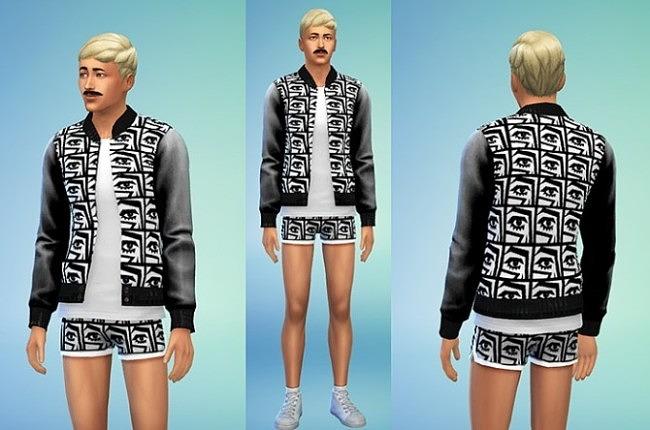 Sims 4 Kesh Jacket at Sims 4 Sweetshop