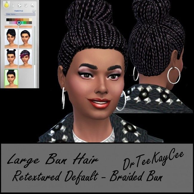 Cool Ethnic Hairstyle at Sim Culture Nation image 505 650x650 Sims 4 Updates