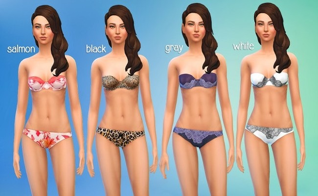 Default Replacement Sleepwear Set at Seventhecho image 524 650x401 Sims 4 Updates