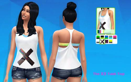 Hipster set tops set at Argonaut Sims image 578 Sims 4 Updates