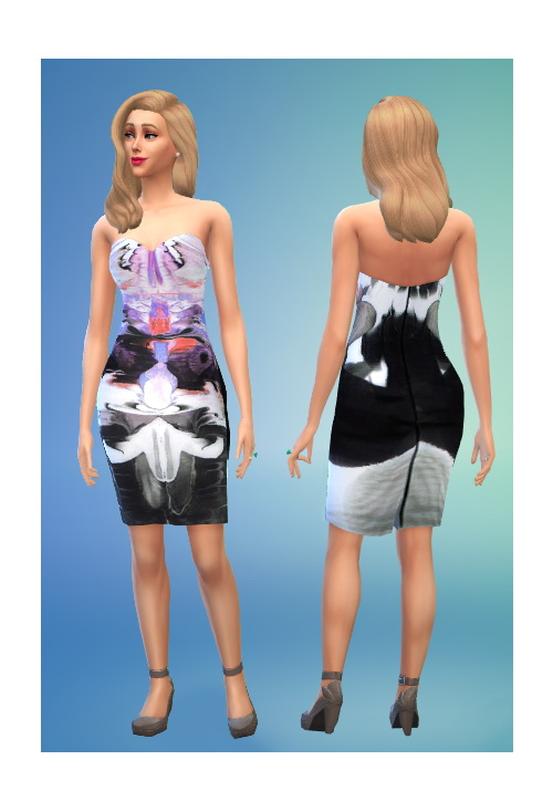 Fitted dress at In a bad Romance image 631 Sims 4 Updates