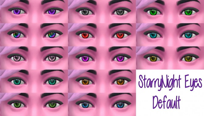 STARRY NIGHT EYES at Star's Sugary Pixels image 648 Sims 4 Updates