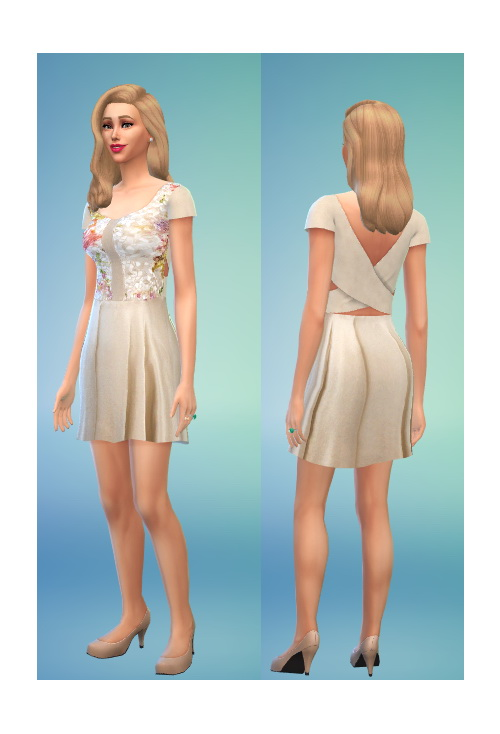 Diana dress at In a bad Romance image 651 Sims 4 Updates