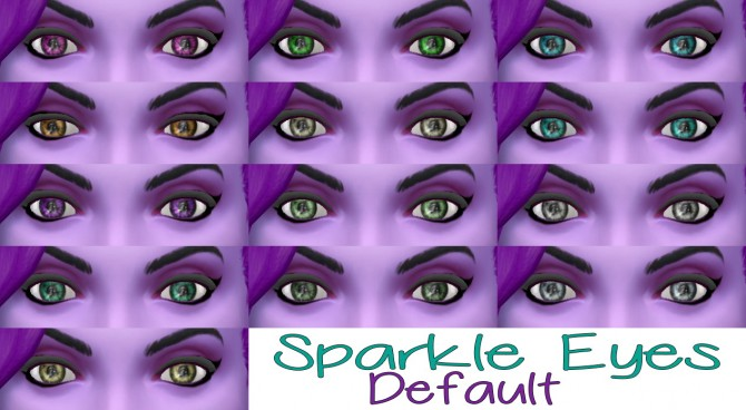 Sims 4 Sparkle Eyes from TS3 to TS4 at Star's Sugary Pixels