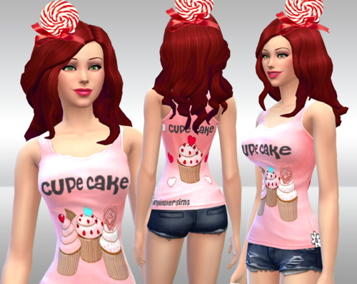 Sims 4 Cup cake top at Angie Lover Sims