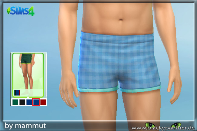 Caro Blue Shorts By Mammut At Blacky S Sims Zoo 187 Sims 4 Updates