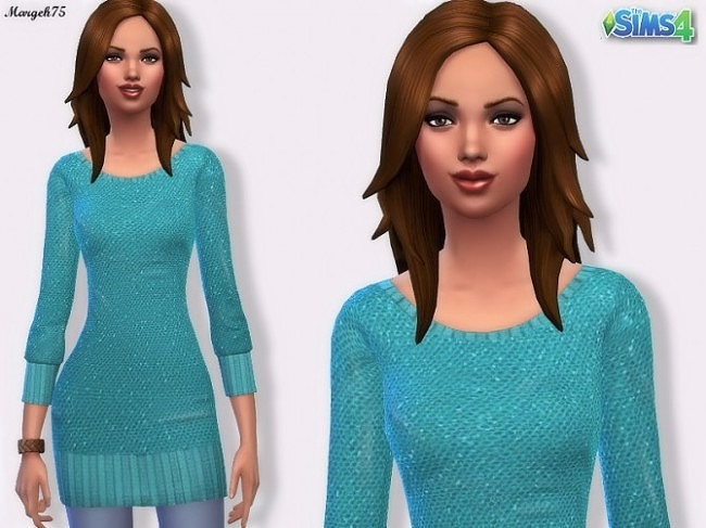 Sims 4 Sequin Jumper by Margeh75 at Sims 3 Addictions