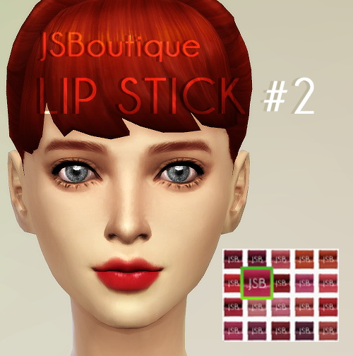 Lipstick #2 at JSBoutique image 10105 Sims 4 Updates