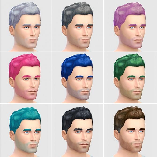 Sims 4 Short Faux hair (New Mesh) at LumiaLover Sims
