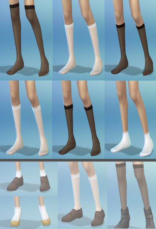 Sims 4 Socks & tights at YN Yeon