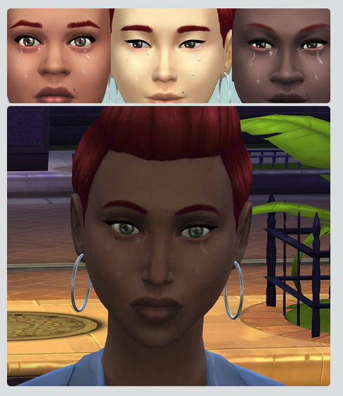 Sims 4 Tears at Jongarakun's Junk