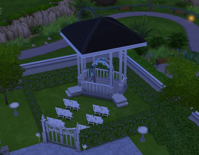 Wedding Facility lot at Simply Morgan image 108 Sims 4 Updates