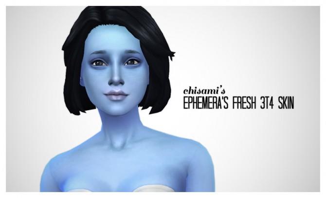 Ephemeras E Skin Fresh 3t4 at Chisami image 1091 Sims 4 Updates