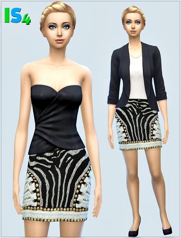 Sims 4 Skirt 1I at Irida Sims4
