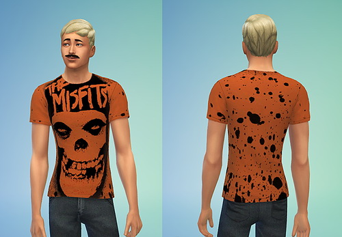 Punk Rock T Shirt Collection 1 (Non Default) at Sims 4 Sweetshop image 111 Sims 4 Updates