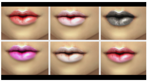 Lipstick set 3 at Simaniacos image 11412 Sims 4 Updates