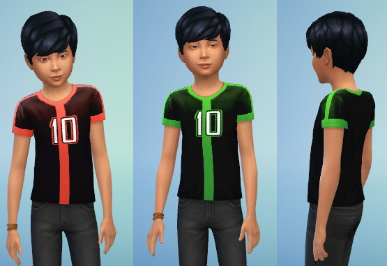 Ben S And Albedo S Shirts From Ben 10 Omniverse At