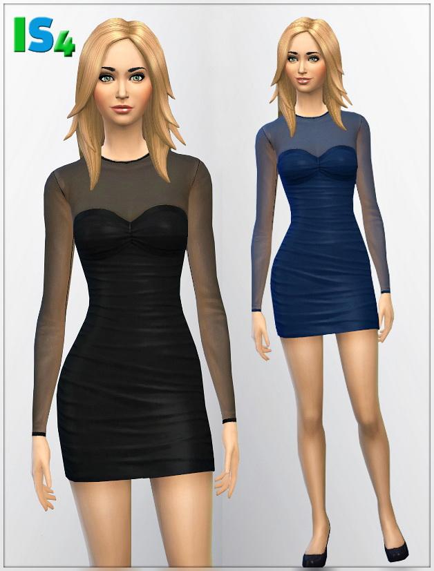 Sims 4 Dress 1I at Irida Sims4