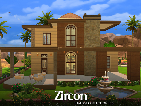 Sims 4 Zircon furnished home by Rhaegal at TSR