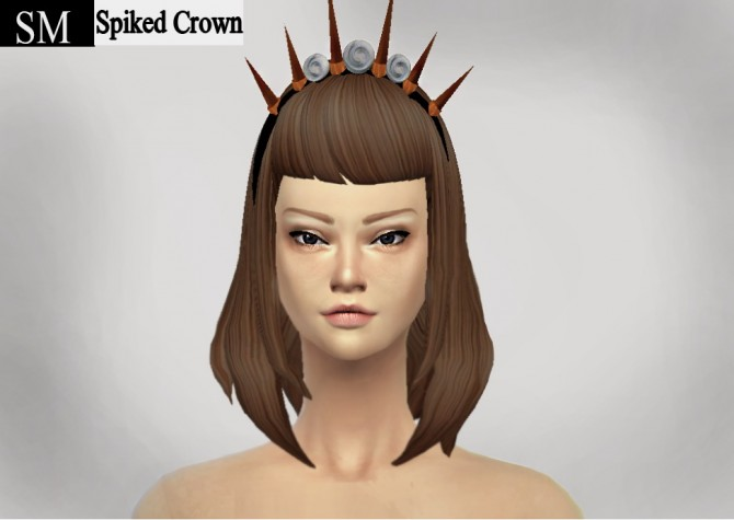 Sims 4 Spiked Crown NEW MESH at Simaniacos