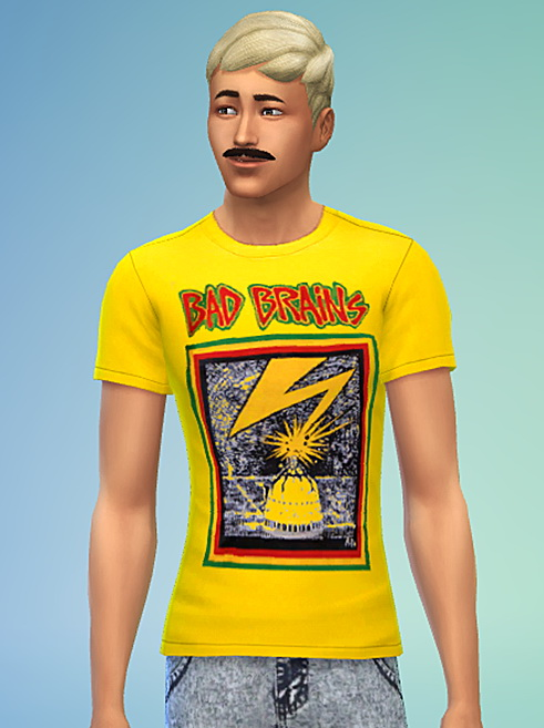 Punk Rock T Shirt Collection 1 (Non Default) at Sims 4 Sweetshop image 121 Sims 4 Updates