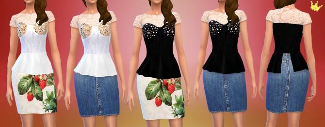 Sims 4 Sim LANA DEL REY at In a bad Romance