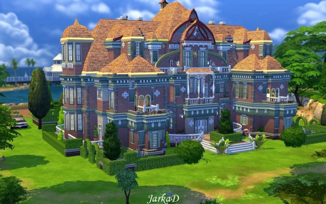 Colette Chateau At Jarkad Sims 4 Blog 187 Sims 4 Updates