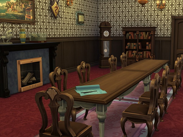 Sims 4 Old Manor by Sim4fun at Sims Fans
