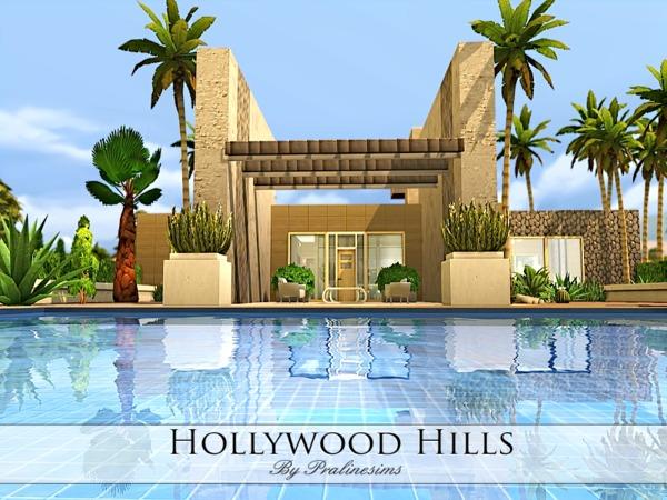 Sims 4 Hollywood Hills Villa by Pralinesims at TSR