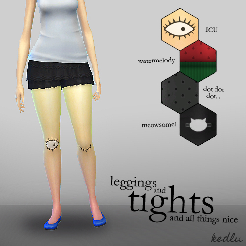 4 pairs of tights/leggings by KEDLU at Mod The Sims image 1418 Sims 4 Updates