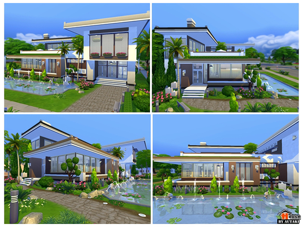 Maya Modern House by Autaki at TSR image 1431 Sims 4 Updates