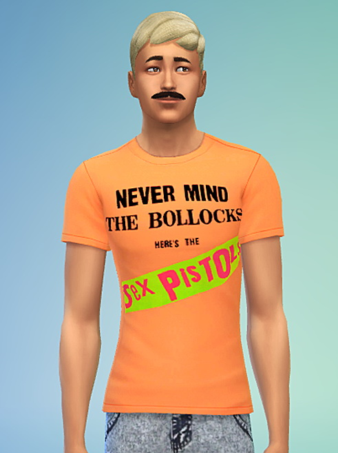 Punk Rock T Shirt Collection 1 (Non Default) at Sims 4 Sweetshop image 151 Sims 4 Updates