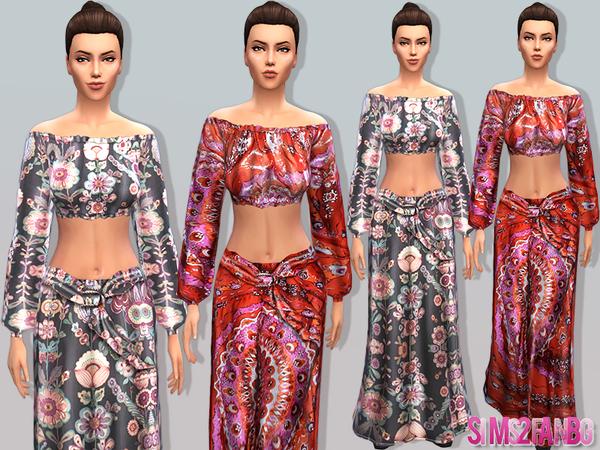 Sims 4 03 Bohemian set by Sims2fanbg at TSR