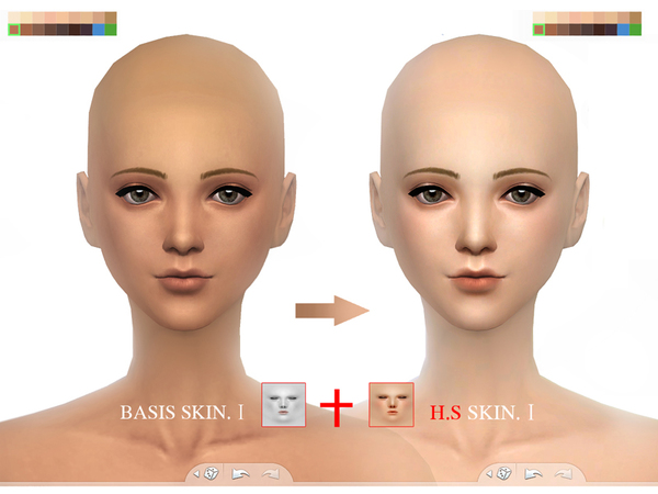 Wmll Sims 4 Bassis Skintones I By S Club At Tsr 187 Sims 4